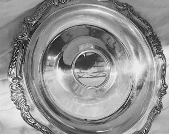 Sheridan Taunton Silversmiths EP Silver Plate Dip Tray