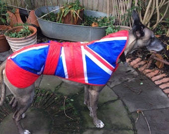 Fun Union Jack Greyhound coat