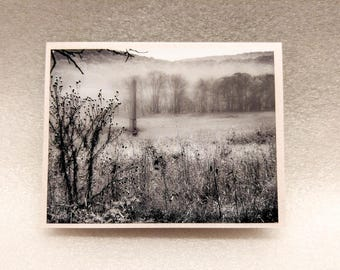 Greeting Card. Valley Forge, Pennsylvania. Blank Card