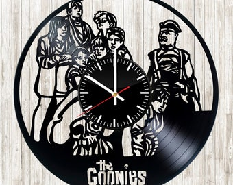 Wall clock with original design The goonies