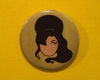 Amy Winehouse Pinback Button