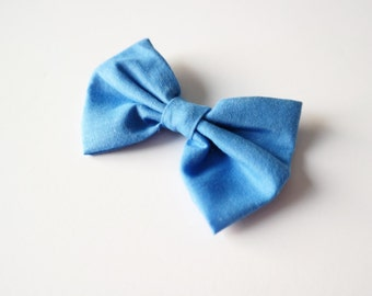 Sky Blue Adjustable Bow Tie