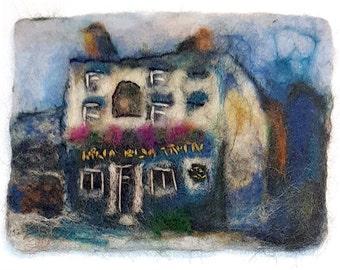 Felt artwork - Kelham Island Tavern, Sheffield
