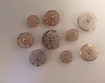 Vintage Fancy Buttons
