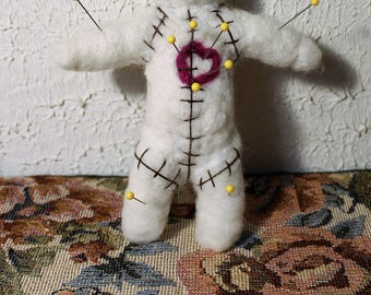 Needle Felted Voodoo Doll