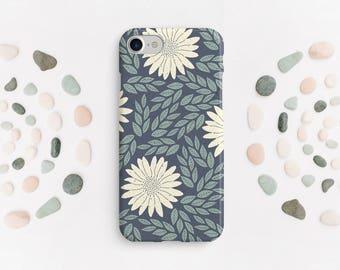 Floral Phone Case, iPhone Case, iPhone 6 Case, Nature Phone Case, iPhone, Matte, Glossy Phone Case, Daisy Phone Case, Flower Case