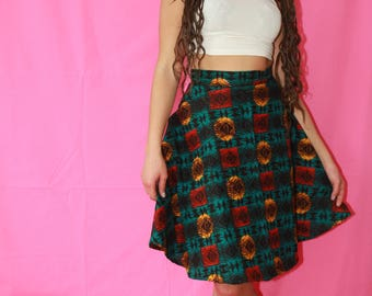 Skirt African Print Ankara