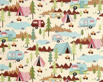 Baby Girl Adventure Minky Blanket