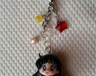 Sailor Mars Rei Keychain