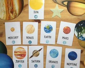 Solar System Discovery Cards