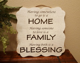 Having Somewhere to Go is a Home
