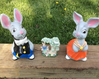Easter Bunny Set...Cute and Silly