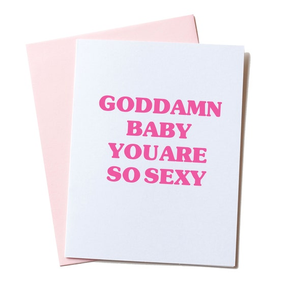 Sexy Valentine Card Naughty Card Dirty Valentine Card Funny – Dirty Valentine Card