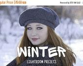 ON SALE 50 Winter Lightroom Presets