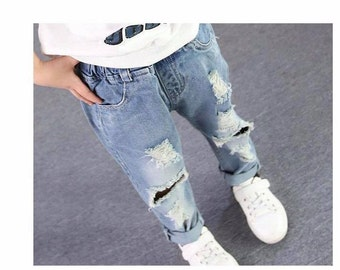 Boys Destroyed Jeans