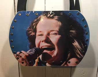Janis Joplin- Farewell Song vinyl record purse