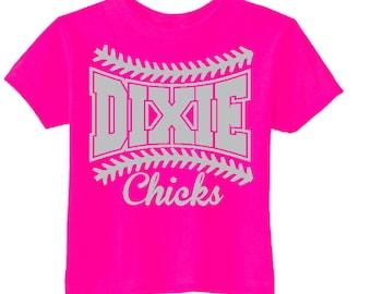 Dixie Chicks Baseball Parent Tee