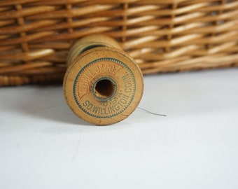 Vintage Wooden Thread Spool, Antique Sewing, Threads, Navy Blue Thread  Climax Thread, G Hall Jr Co, So. Willington, CT,  Free Ship