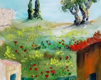 Religious Wall Art, Jewish home decor, Jewish art, Made in Israel, Judaica wall art, Jerusalem painting, Jewish painting, Judaica art