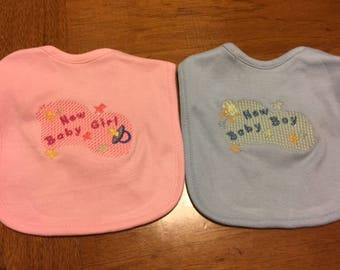 Newborn Baby Bibs