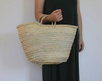 Natural Weave Basket, palm basket, shooping bag,home decoration, handmade, eco friendly, rustic baskets ,beach basket, decor.