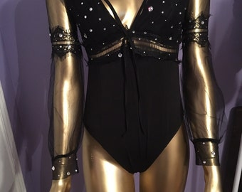 Sprinkled Crystallized Bodysuit
