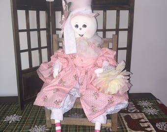 Snowlady in Pink