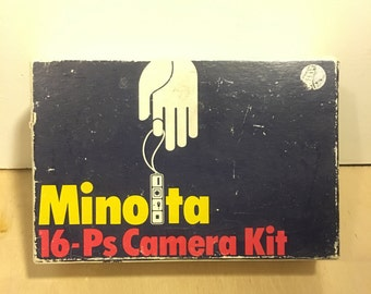Minolta 16-Ps Camera Kit