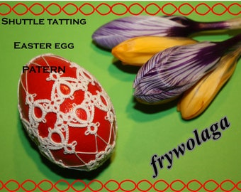 Shuttle Tatting Easter Egg nr 2 PDF