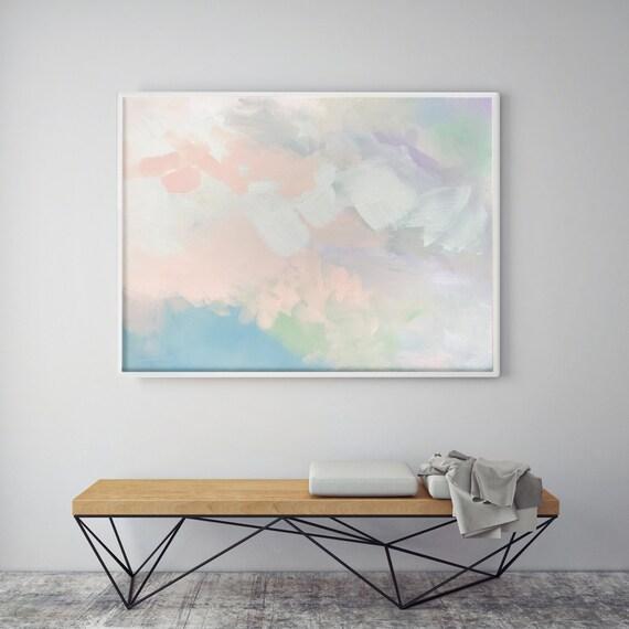 Abstract Peach Pair 1