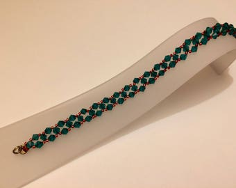 Deck the Halls Swarovski Bracelet