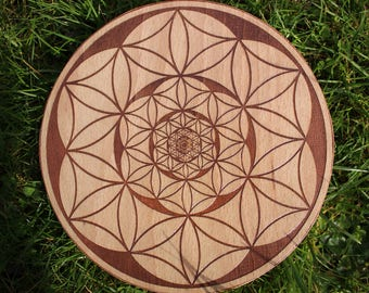 Infinite Flower Crystal Grid