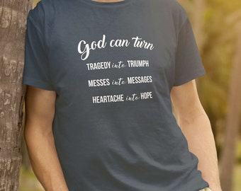 God Can Turn Anything Into Anything