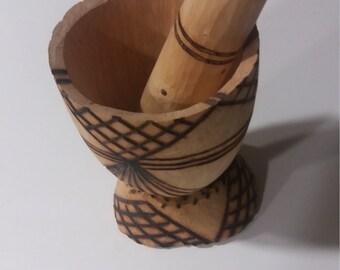 Angola hand made mortar