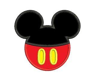 Mickey Ears Applique