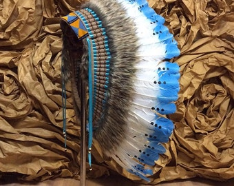 Indian headdress - Cloudy Day
