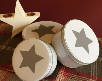 Star Storage Tins Set of Three - SCAR[ZB212B]