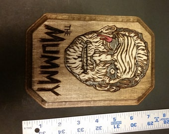 The Mummy wall plaque