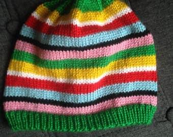 Strips Spring Hat