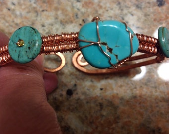 Artisan, Braclet Copper & Turquios