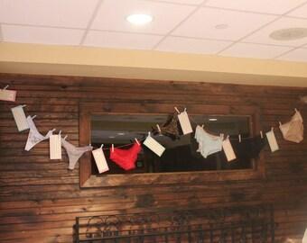 DIGITAL FILE: Bridal Shower Panty Poem (CUSTOMIZABLE)