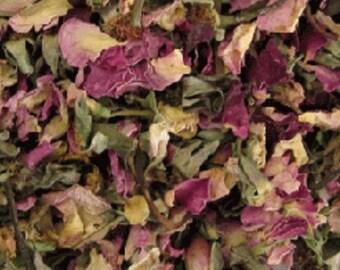 Rose Petals and Buds, Pink
