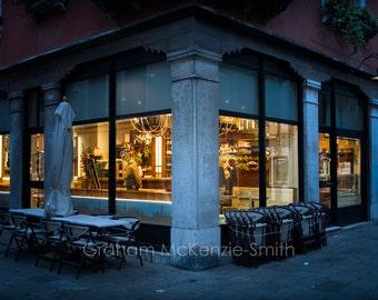 Venice Bar , Venice photography, Venice art print, Venice, Italy