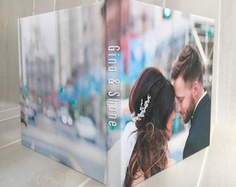 8x8 Photo Cover Custom Designed Wedding Album