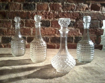 Four Glass Wine Decanters