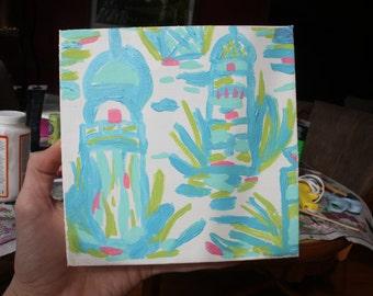 Lilly Pulitzer Canvas - High Beams