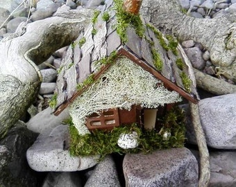 Fairy House - fae fairy pagan with witchcraft wiccan wood
