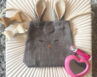 Bunny Toddler Purse, Toddler Handbag, Kids Purse, Coin Purse, Girls' Purse, Toddler Fashion