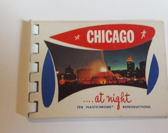 Vintage Postcard Book