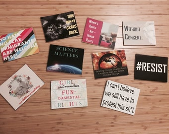 Protest Postcards - Pack of 10 (April: Environmental Defense Fund)